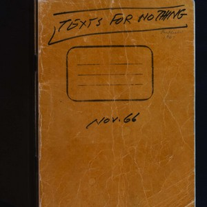 Autograph draft of <em>Texts for Nothing</em> by Samuel Beckett