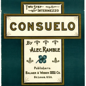 Consuelo : two-step intermezzo / by Alec. Ramble.
