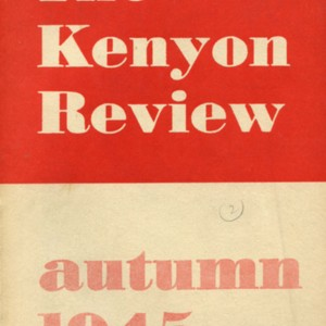 """The Bell"" by Mona Van Duyn from <em>The Kenyon Review</em>"