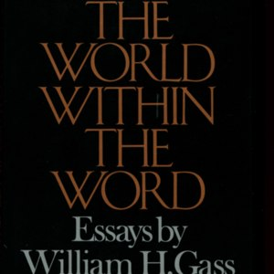 <em>The World Within the Word</em>- First Edition Dust Jacket