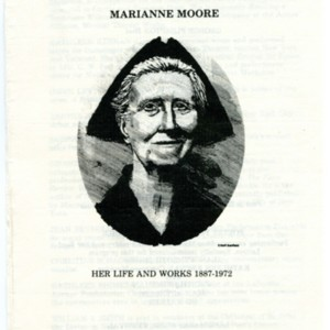 """Marianne Moore, Her Life and Works: 1887-1972"""