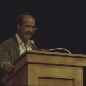 Nuruddin Farah at the Writer in Politics Conference