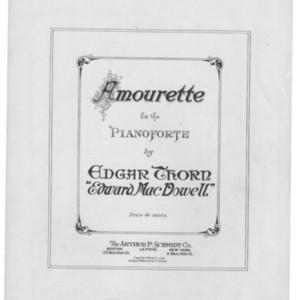 Amourette : for the pianoforte