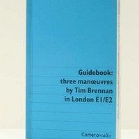 Guidebook : three manoeuvres by Tim Brennan in London E1/E2