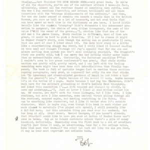 Typed letter, signed from Robert Coover to Stanley Elkin, March 16, 1972