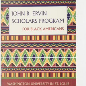 John B. Ervin Scholars Program For Black Americans