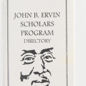 John B. Ervin Scholars Program Directory 1997-1998