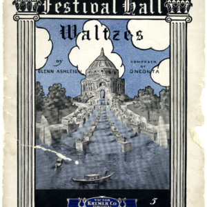 Festival Hall : waltzes / by Glenn Ashleigh.