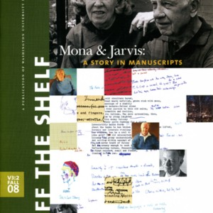 """Mona and Jarvis: A Story in Manuscripts"" by Aaron Welborn from <em>Off the Shelf</em>, Volume 3, Number 2 (Fall 2008)"