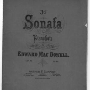 3rd sonata for pianoforte, op. 57