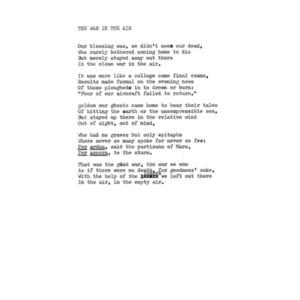 nemerov poems