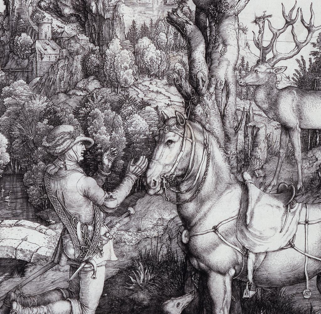 Albrecht Durer Art Poster Print The Large Turf 24x36